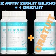 2 Activ Zeolit Silicic  + 1 GRATUIT