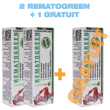 Rematogreen 2 +1 GRATUIT